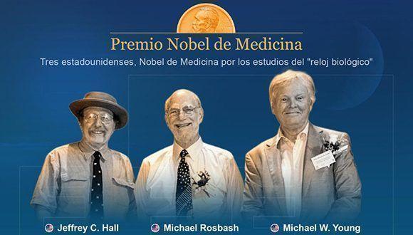 Premio Nobel de Medicina 2017 al estudio sobre los ritmos biológicos