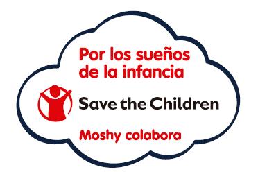 Moshy colabora con Save The Children
